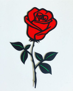 Brightening up a gloomy day 🌹_#rose #fl