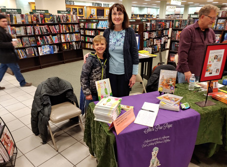 February Barnes and Noble Book Signing