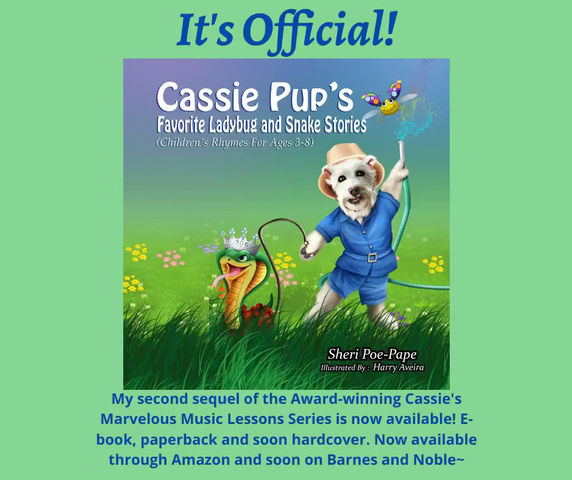 3rd Book in Cassie Series Debuts Today!!