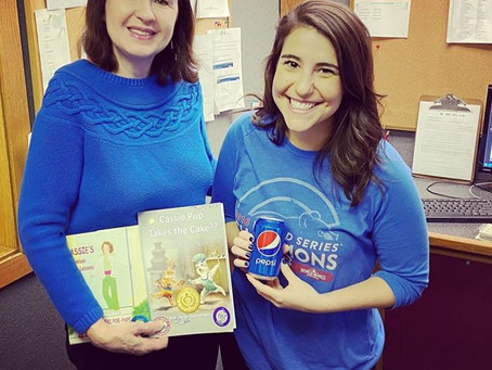 Super author interview with Midday Michelle on WZOK Radio!