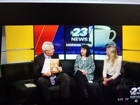 Author TV Interview for Book Signing