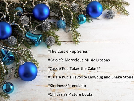 Cassie Pup Books On Sale!