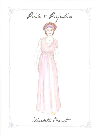 Elizabeth Bennet Costume Rendering