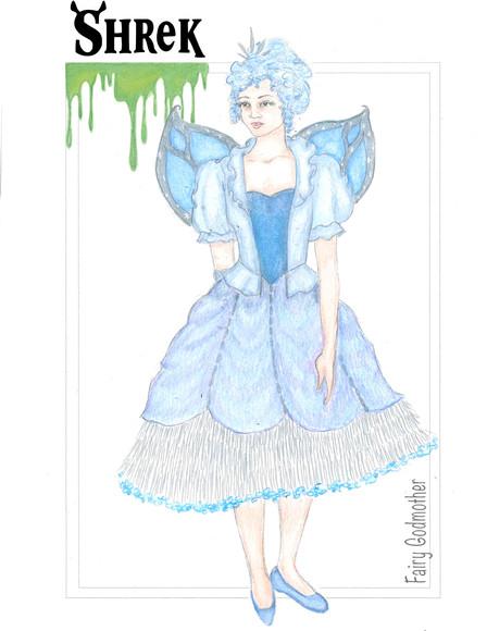 SHREK THE MUSICAL Fairy Godmother Rendering