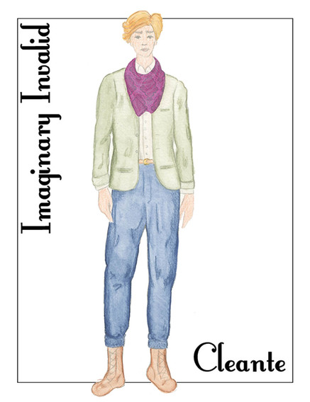 The Imaginary Invalid Costume Rendering