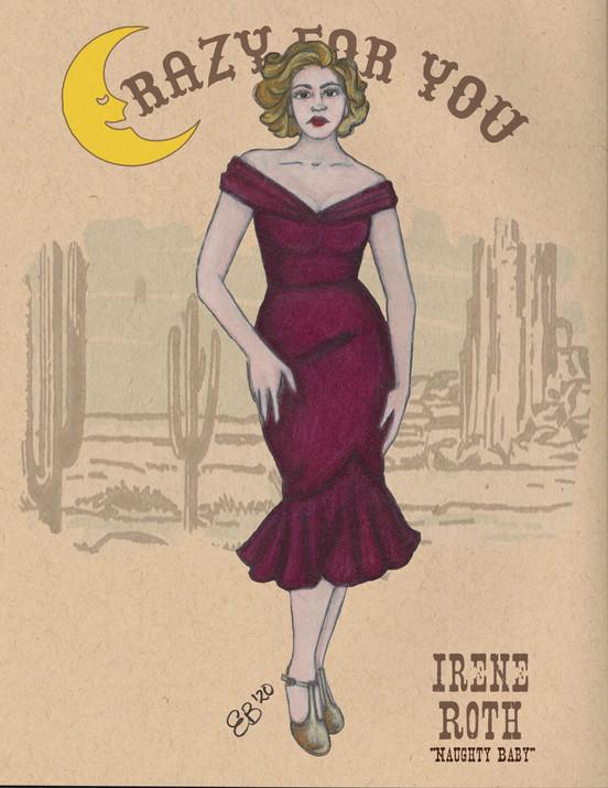 """Irene """"Naughty Baby"""""""