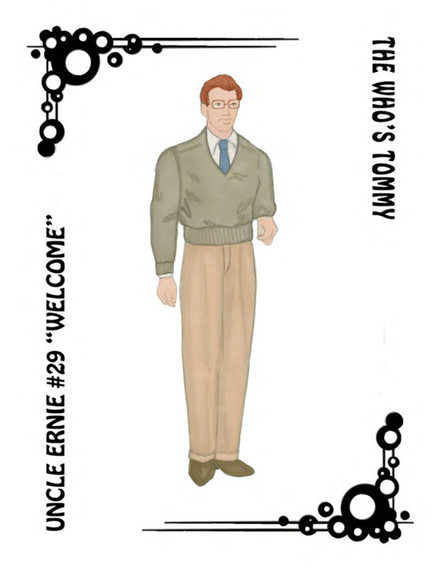 The Who's Tommy Costume Rendering