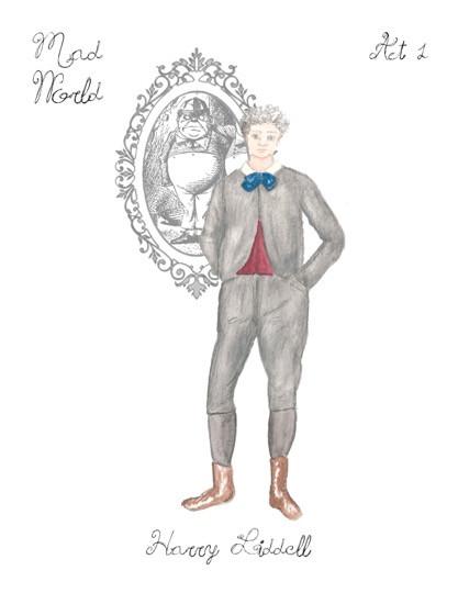 Mad World Costume Rendering