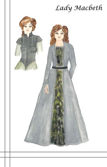 Lady M Costume Rendering