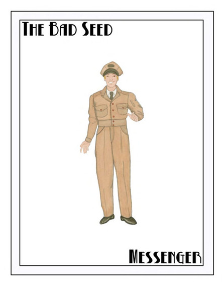 The Bad Seed Costume Rendering