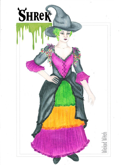 SHREK THE MUSICAL The Wicked Witch Rendering