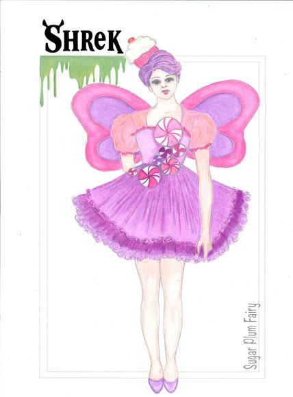SHREK THE MUSICAL Sugar Plum Fairy Rendering