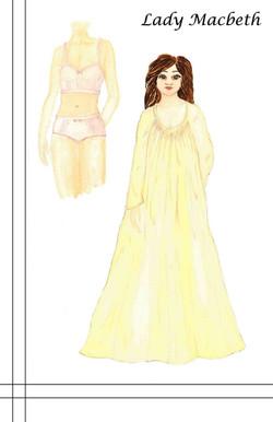 Lady Macbeth Nightgown