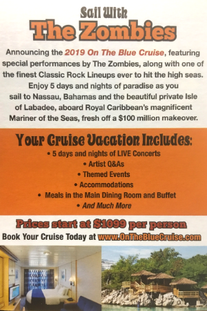 2019 On The Blue Cruise