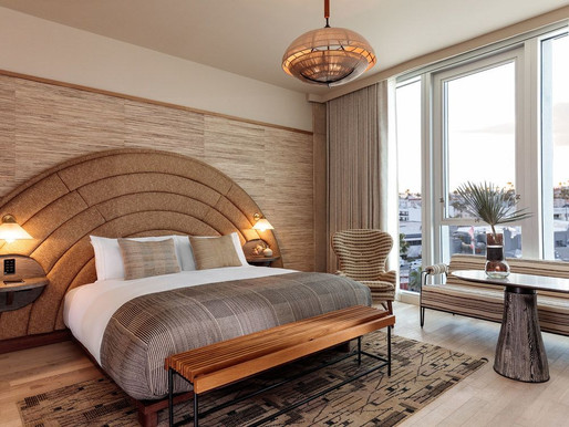 Interiors That Spark Soul : Santa Monica Proper Hotel