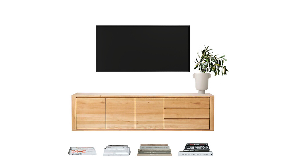 how to style a media console, how to style a tv console