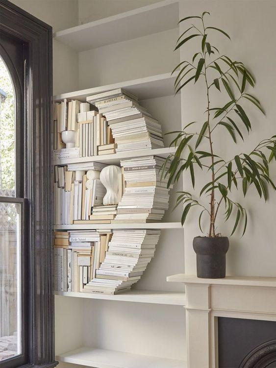 Bookshelf styling tips shelfie