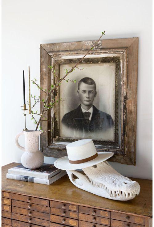 styling tips vintage art dresser styling
