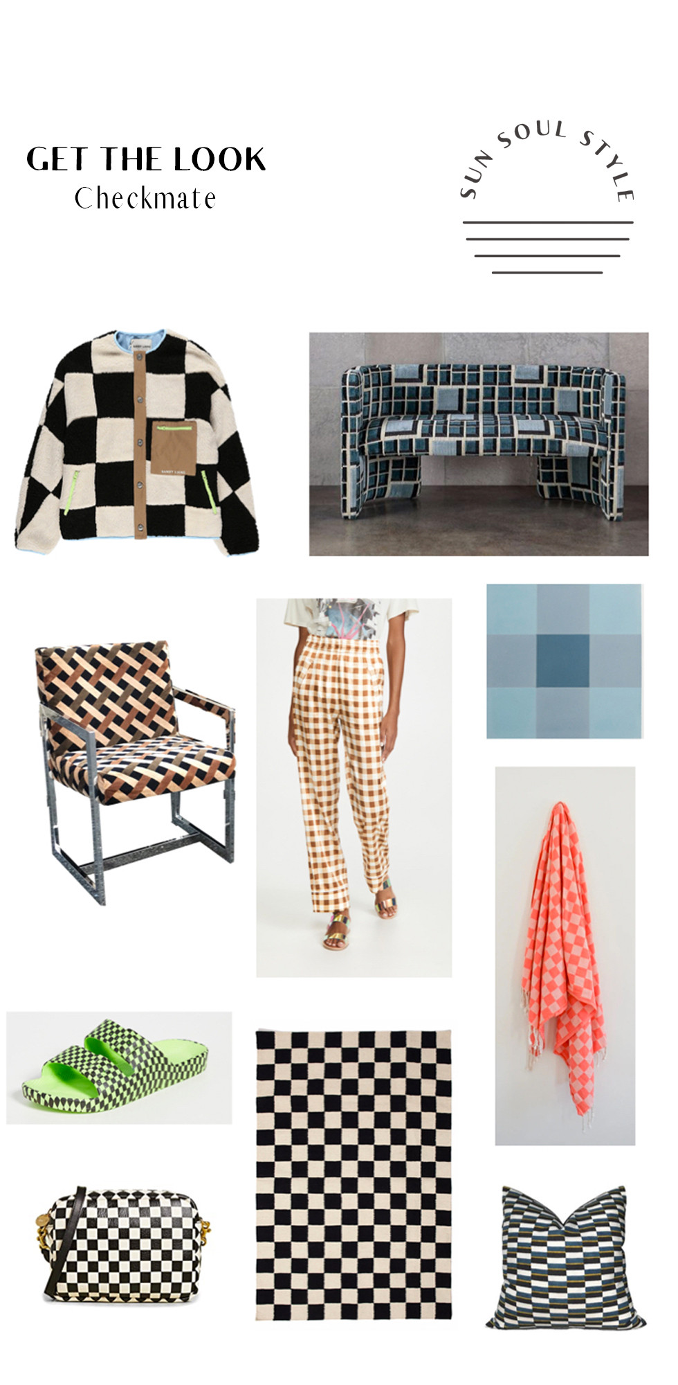 Get the look checkerboard print trend