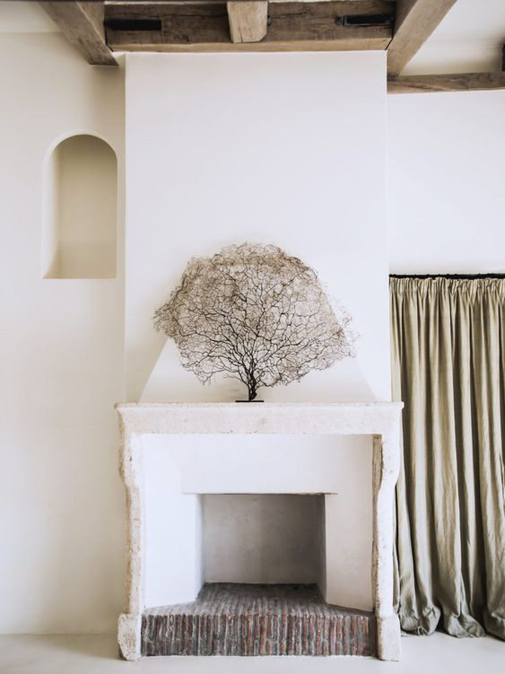 Fireplace styling tips coral on fireplace plaster fireplace