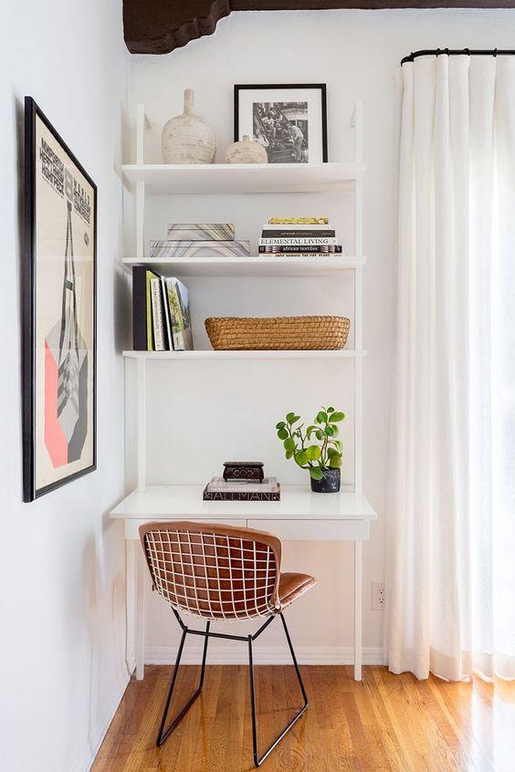 Bohemian modern home office design