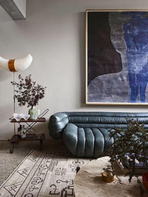 Noguchi akari floor lamp modern living room design