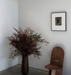 Interior styling tips flowers in vase primitive Colin King Eyeswoon