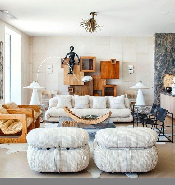 Kelly Wearstler interior design living room design neutral living room
