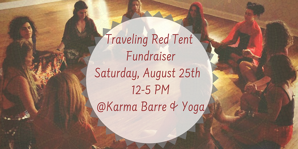 Traveling Red Tent Fundraiser
