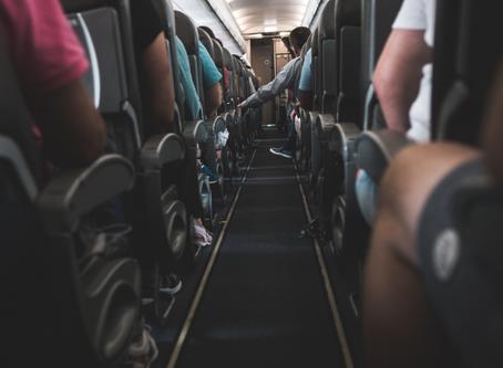 Varizes X  Viagens longas: é seguro?