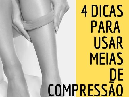4 dicas práticas para o uso da meia