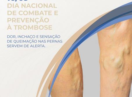 16 de Setembro - Dia Nacional de Combate e Prevenção a Trombose