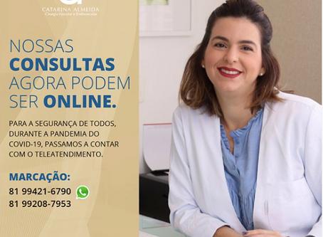 Você sabia que agora sua consulta pode ser online?