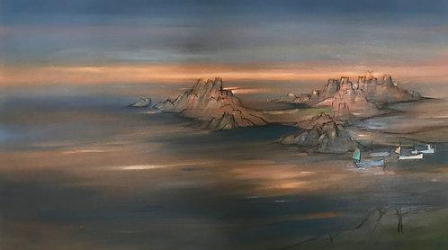 Periglis Sunset- St Agnes, Scillies- £3,400