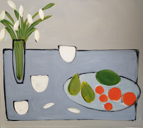Paperweights & Fruit - £950