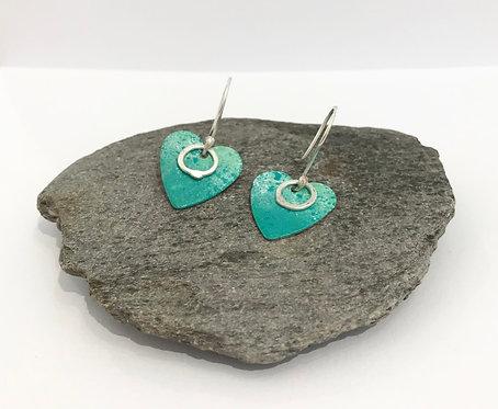 Copper & Silver Earrings- £38