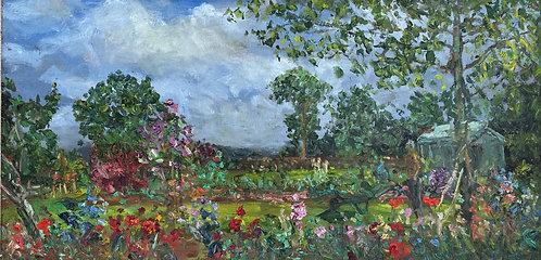 Plum Tree Cottage Garden, Ffawydrlog - £3000