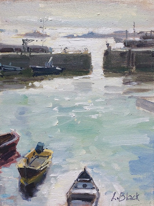 Sunrise in Mousehole- £380