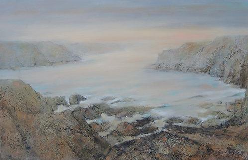 Cliffline Evening Light - £3500