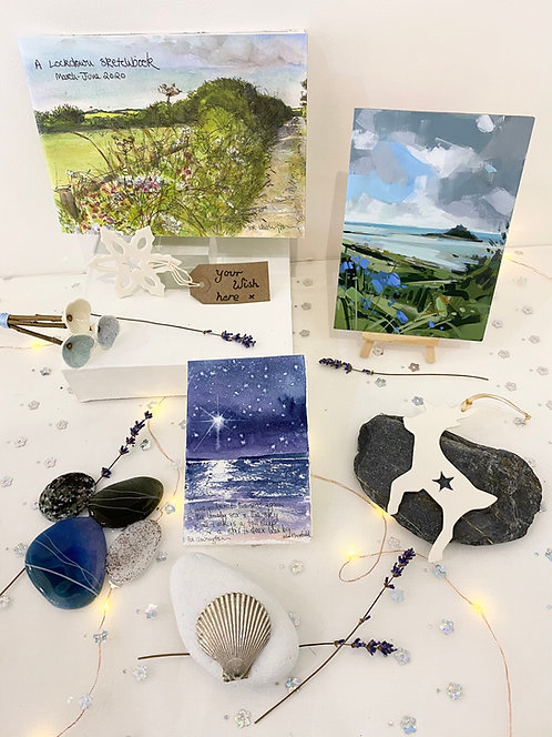 SOLD: Christmas Wish Box: 'Penwith Magic' featuring Imogen Bone and more - £250