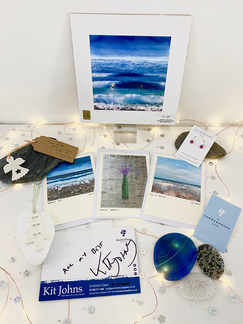 SOLD: Christmas Wish Box: 'Coastal Days' featuring Kit Johns and more £50