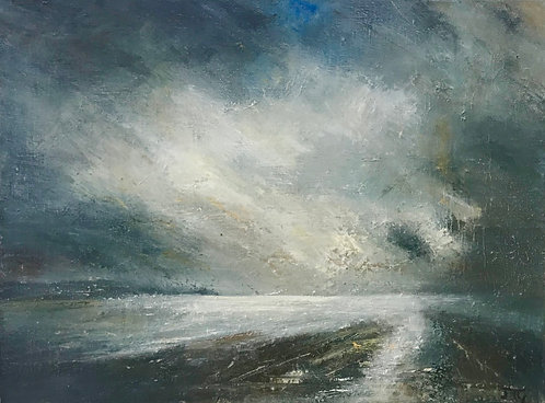 Moonlight Towards Mounts Bay- £200