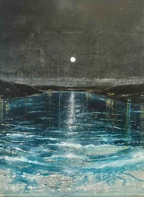 Full Moon on Knightsbridge Estuary- £795