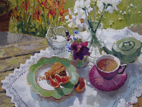 Grapefruit With April Flowers And Tea - £995