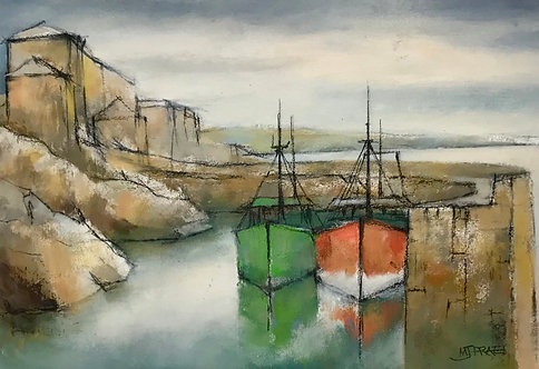 Harbour Shapes, Morning Calm- £1,100