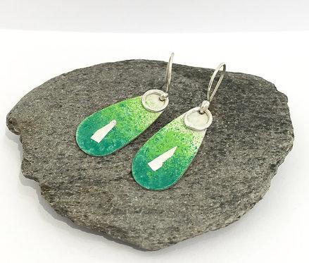 Copper & Silver Earrings- £40