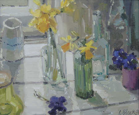Daffodils and Violets - £530