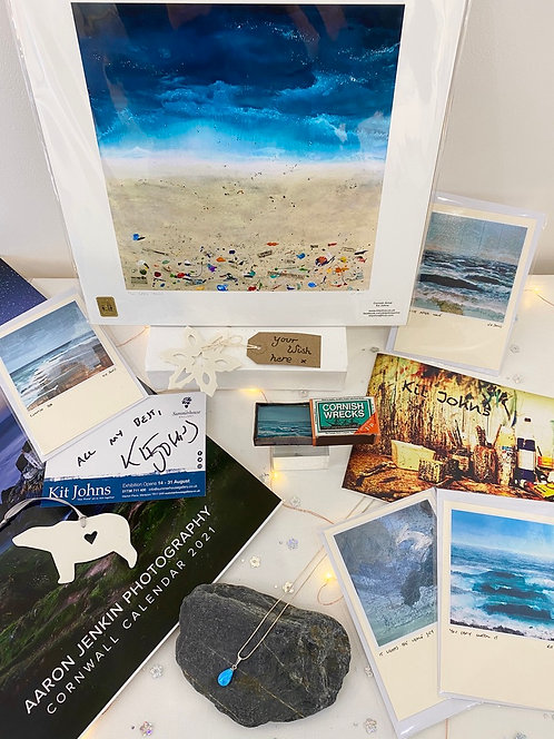 SOLD: Christmas Wish Box: 'Into the Blue' featuring Kit Johns and more - £175