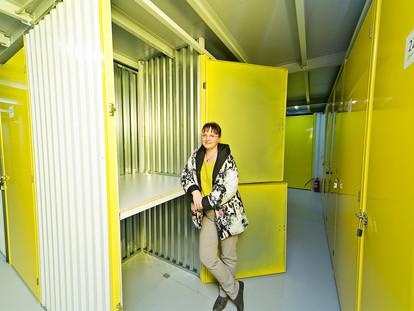 Желтый ящик