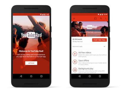 Cтриминговый сервис YouTube Red